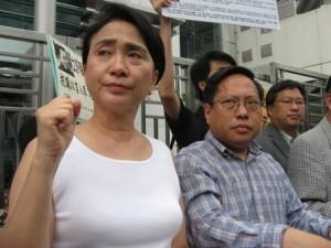 抗议《零八宪章》起草人刘晓波被当局以煽动颠覆国家政权罪正式逮捕2