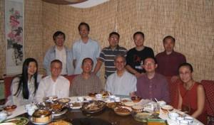 笔会成员在北京聚会