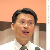 行政院新闻局局长苏俊宾